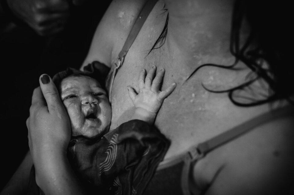 Geboorteverhaal Puk - Een prachtige thuis badbevalling in Vlaardingen