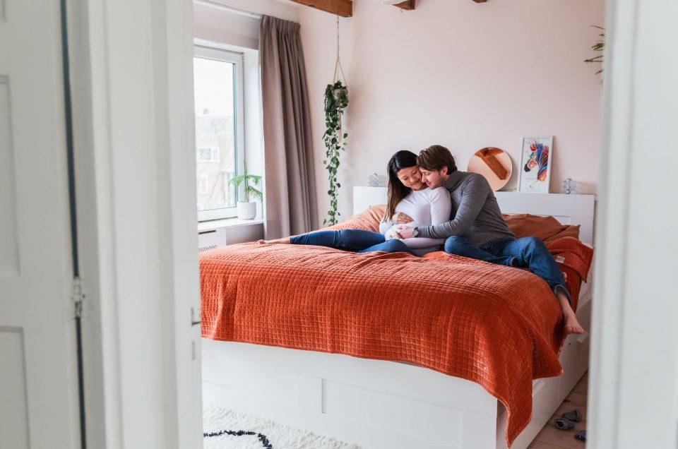 Zwangerschapsshoot Rotterdam - Alles is liefde